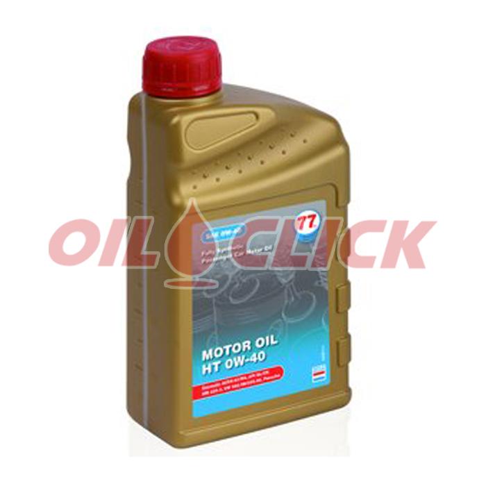 [77 LUBRICANTS] 77 엔진오일 MOTOR OIL HT 0W-40 1L