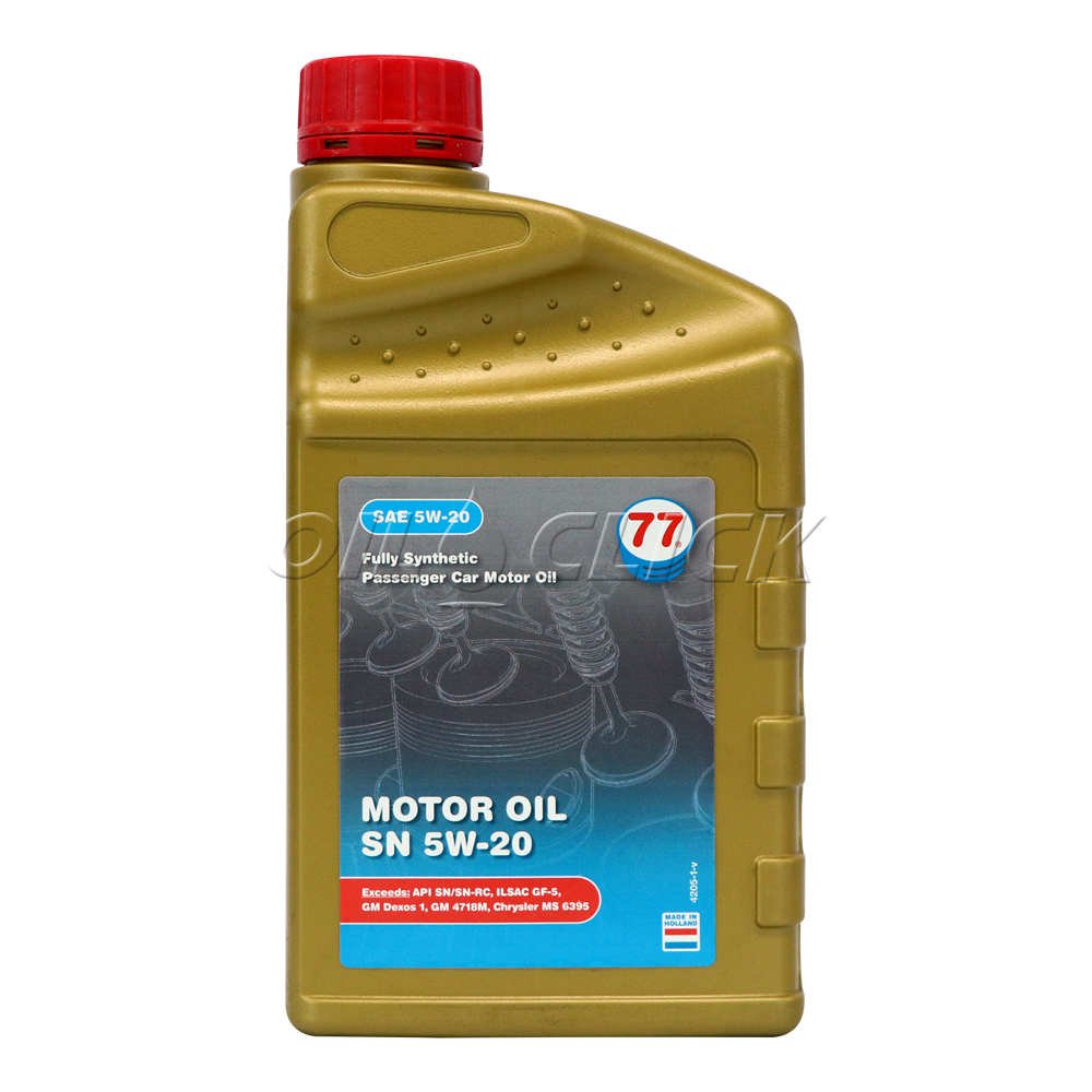 [77 LUBRICANTS] 77 엔진오일 MOTOR OIL SN 5W-20 1L