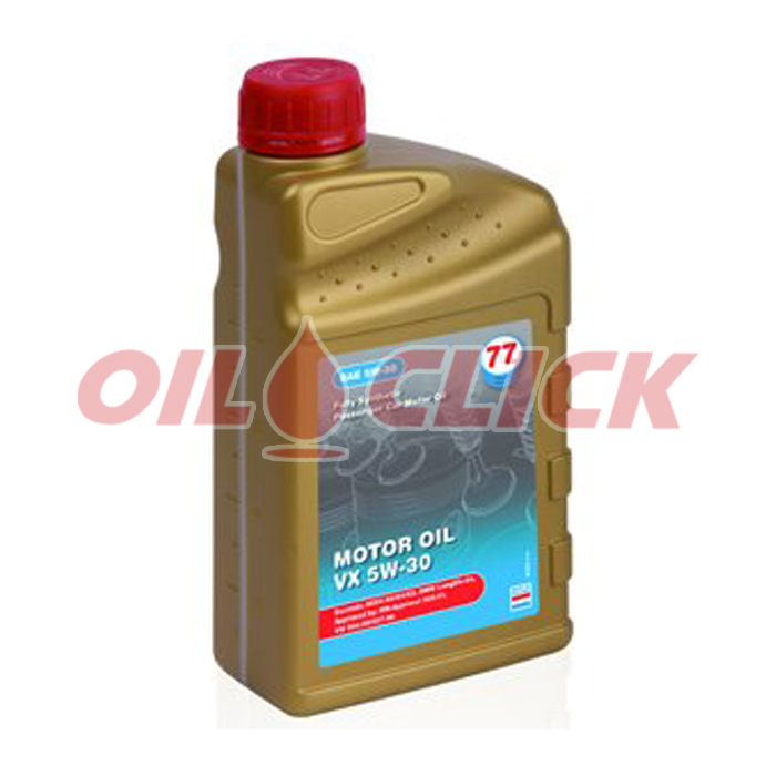 [77 LUBRICANTS] 77 엔진오일 MOTOR OIL VX C3 5W-30 1L
