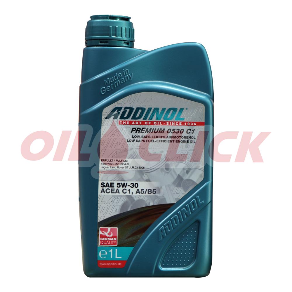 아디놀 ADDINOL 프리미엄 0530 C1 5W-30 엔진오일 1L