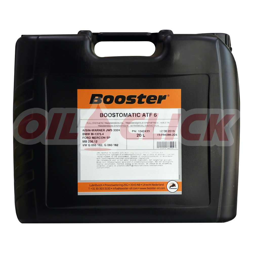부스터 BOOSTOMATIC ATF 6 20L