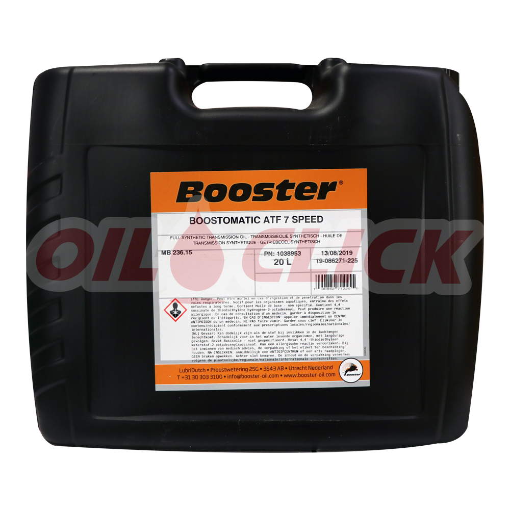 부스터 BOOSTOMATIC ATF 7 SPEED (MB 236.15) 20L