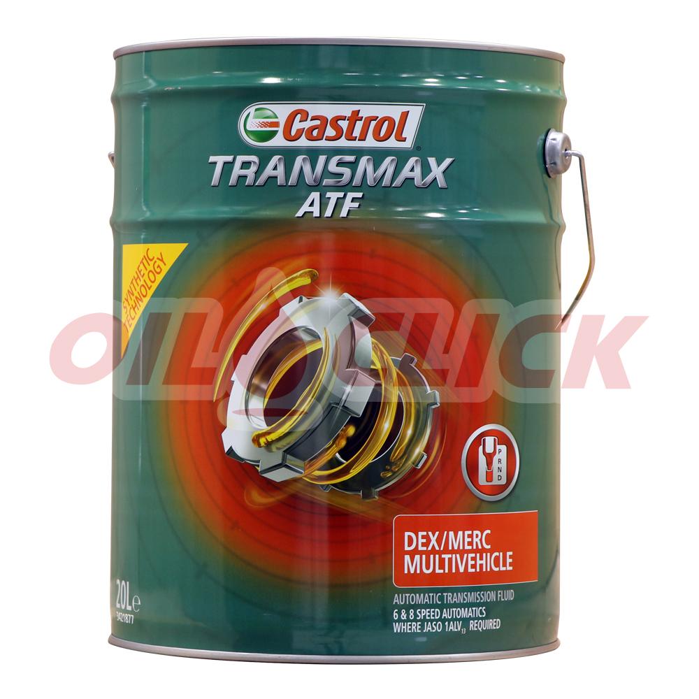 캐스트롤 Transmax ATF Dex/Merc Multivehicle 6단 8단 자동미션오일 20리터