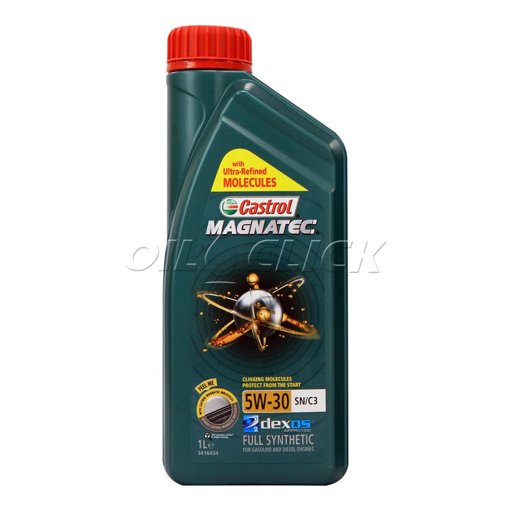 [CASTROL] 캐스트롤 엔진오일 마그네틱 5W-30 SN/C3 1L