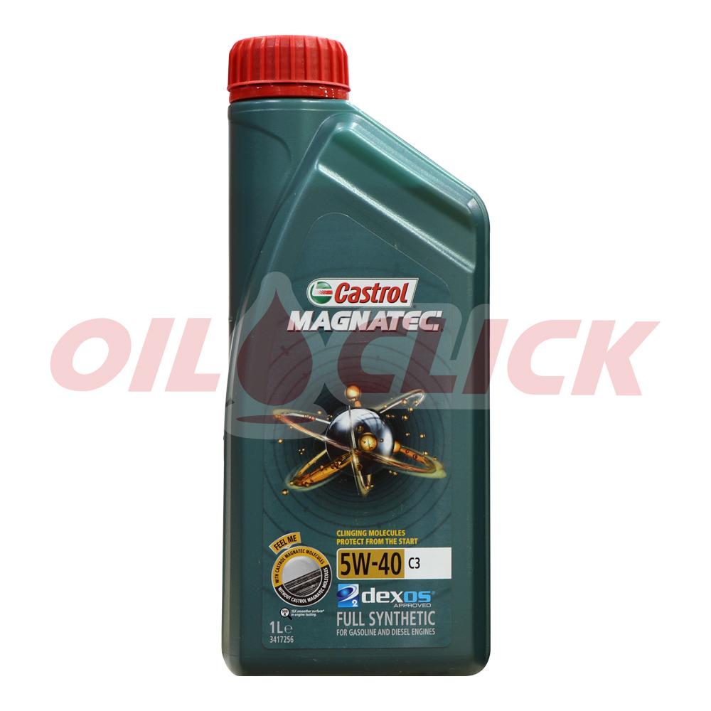 [CASTROL] 캐스트롤 엔진오일 마그네틱 5W-40 C3 1L