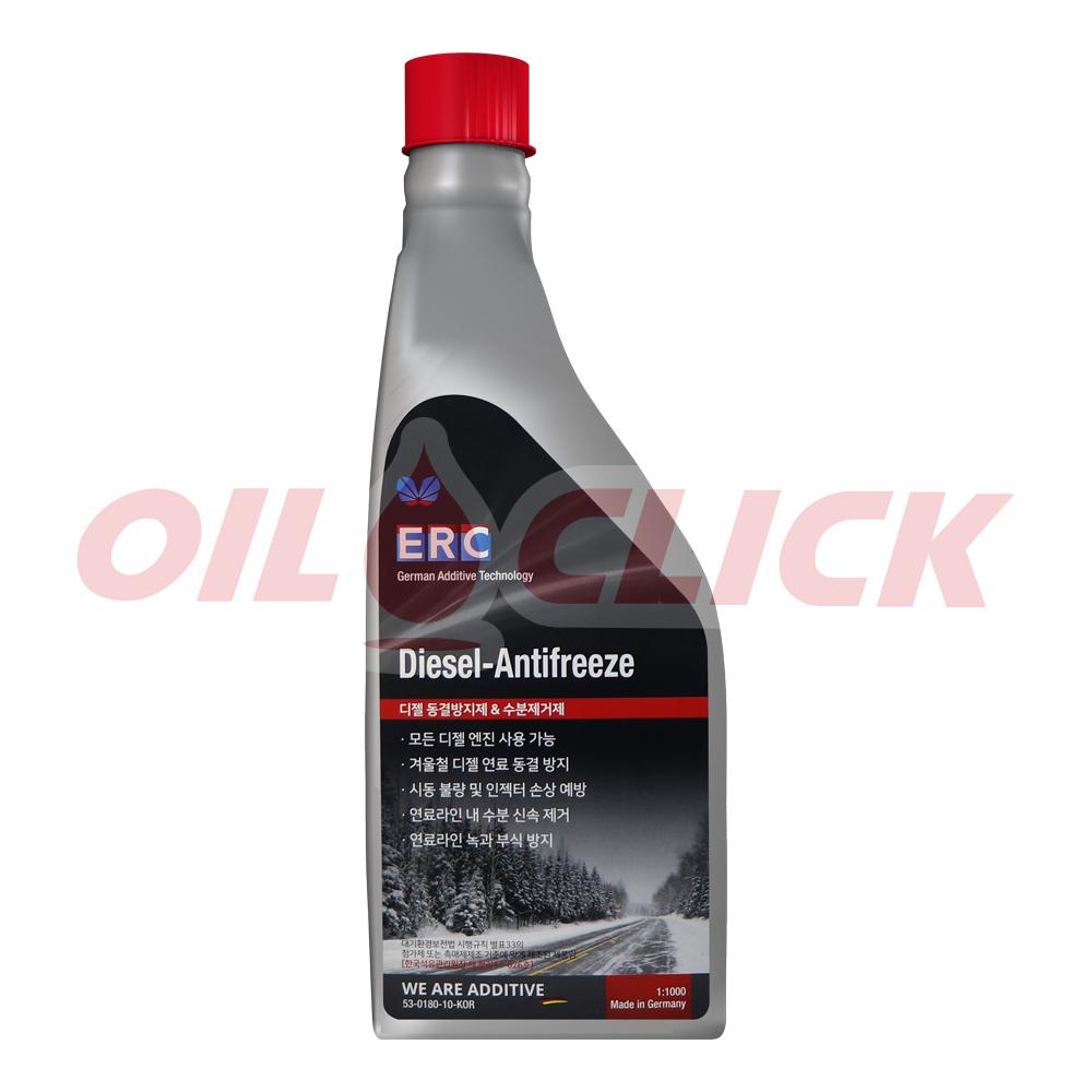 ERC 디젤 동결방지제 & 수분제거제 Diesel Anti-Freeze - 대형차 첨가제 1L