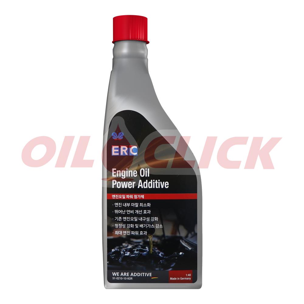 ERC 엔진오일 파워 첨가제 Engine Oil Power Additive - 대형차 첨가제 1L