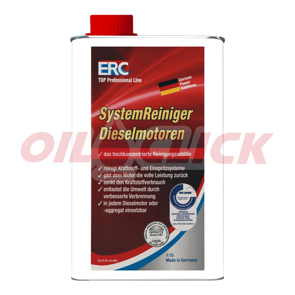 ERC 디젤 연료라인 시스템 세정제 1리터
