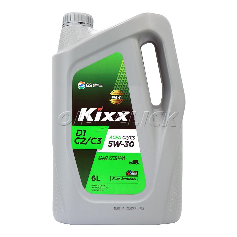 킥스 KIXX D1 C3 5W-30 6L