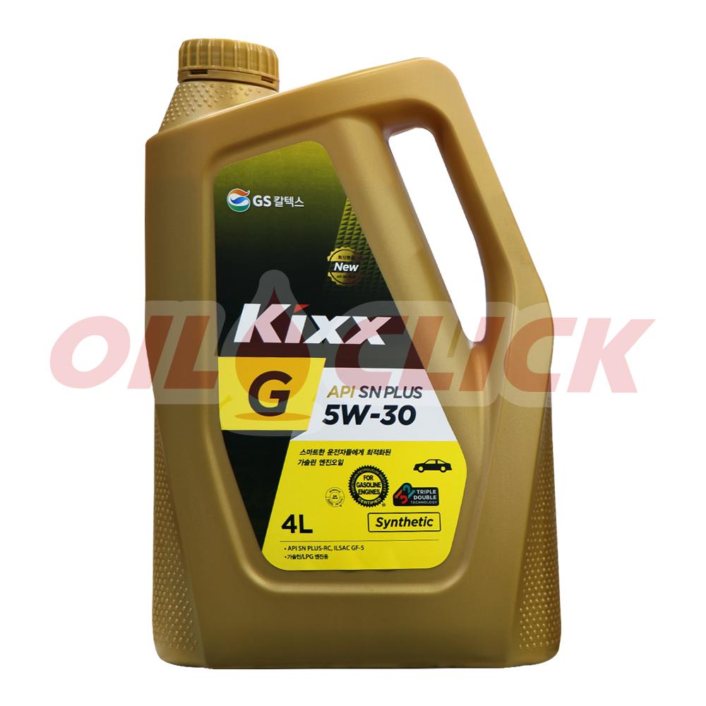 [KIXX] 킥스 엔진오일 G 5W-30 SN PLUS 4L