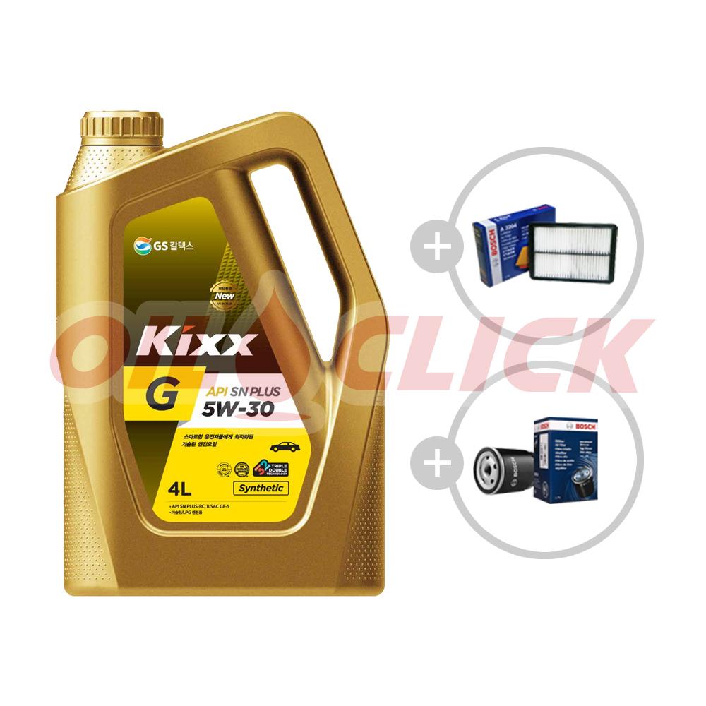 [묶음상품] 킥스 G 5W-30 SP 4L + 오일필터 + 에어필터 / 뉴모닝 가솔린 1.0 (08~11년)