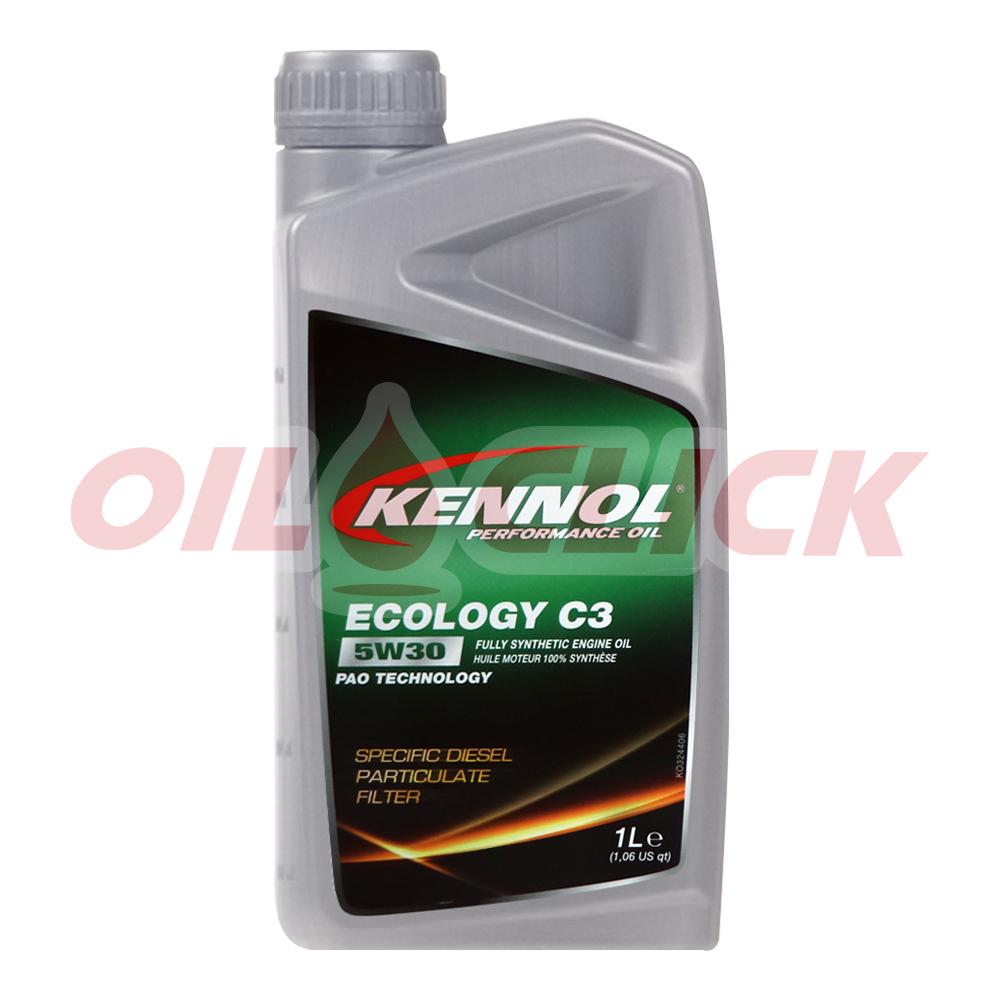 [KENNOL] 케놀 엔진오일 에코로지 C3 5W-30 1L