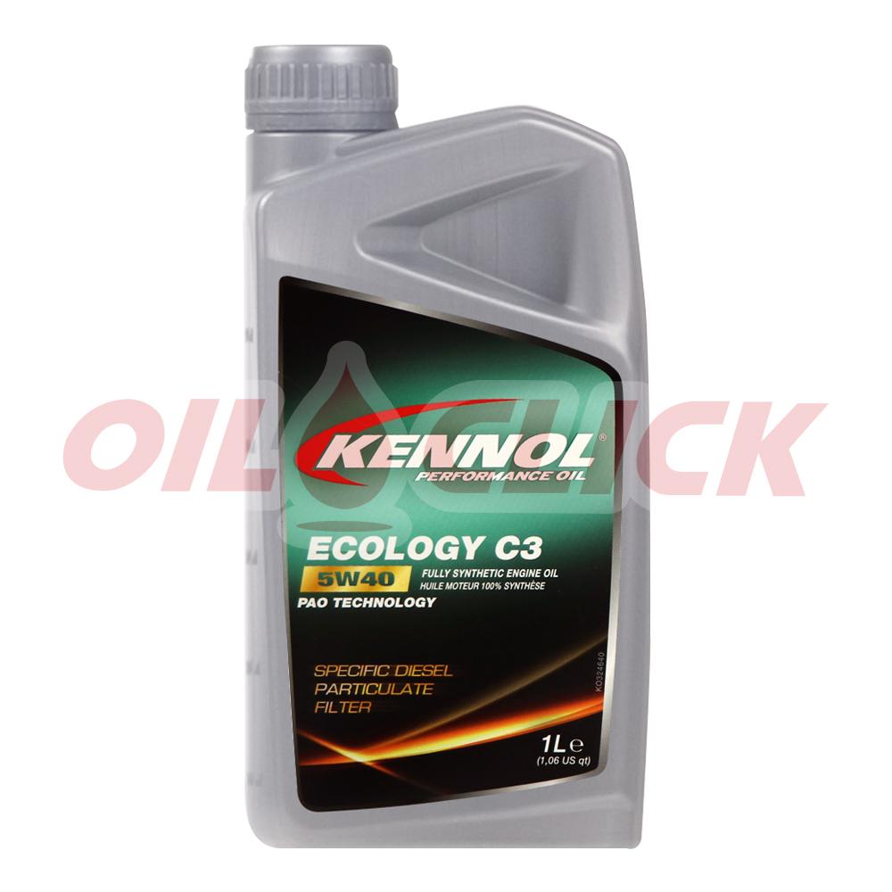 [KENNOL] 케놀 엔진오일 에코로지 C3 5W-40 1L