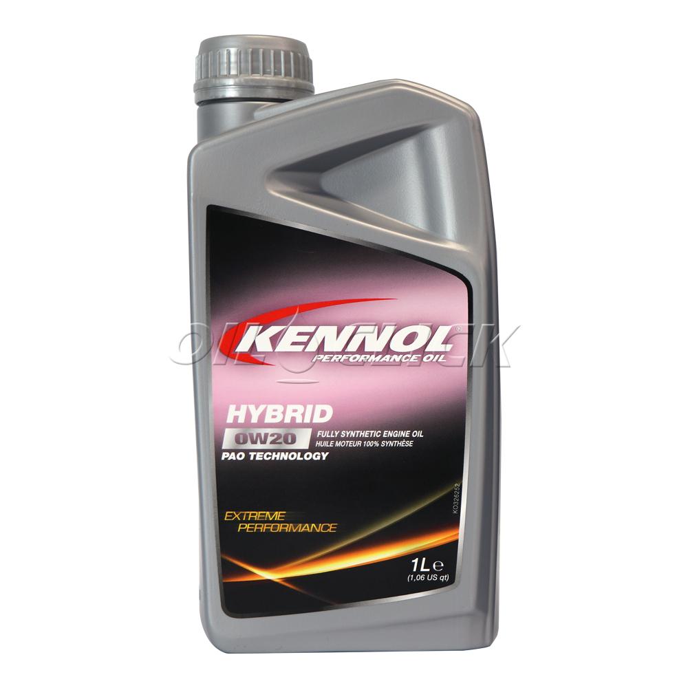 케놀 KENNOL 엔진오일 하이브리드 0W-20 1L