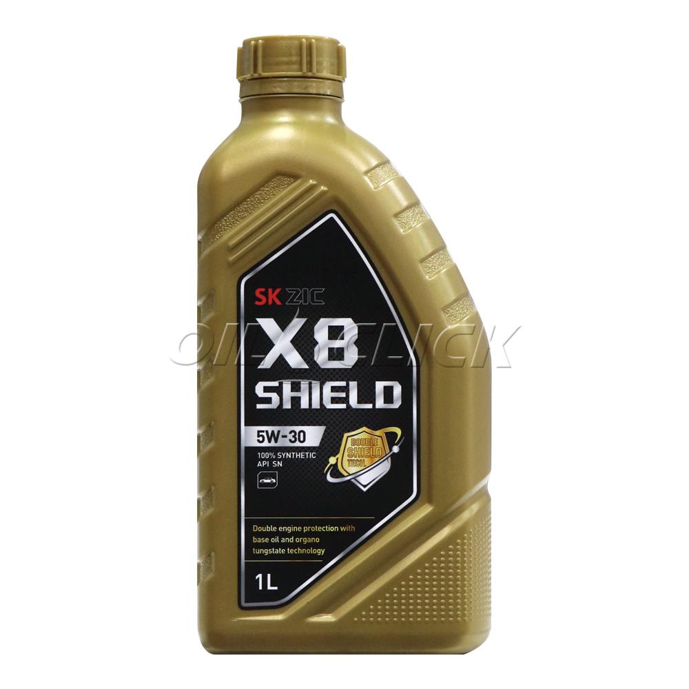 [SK ZIC] 지크 엔진오일 X8 쉴드 5W-30 1L