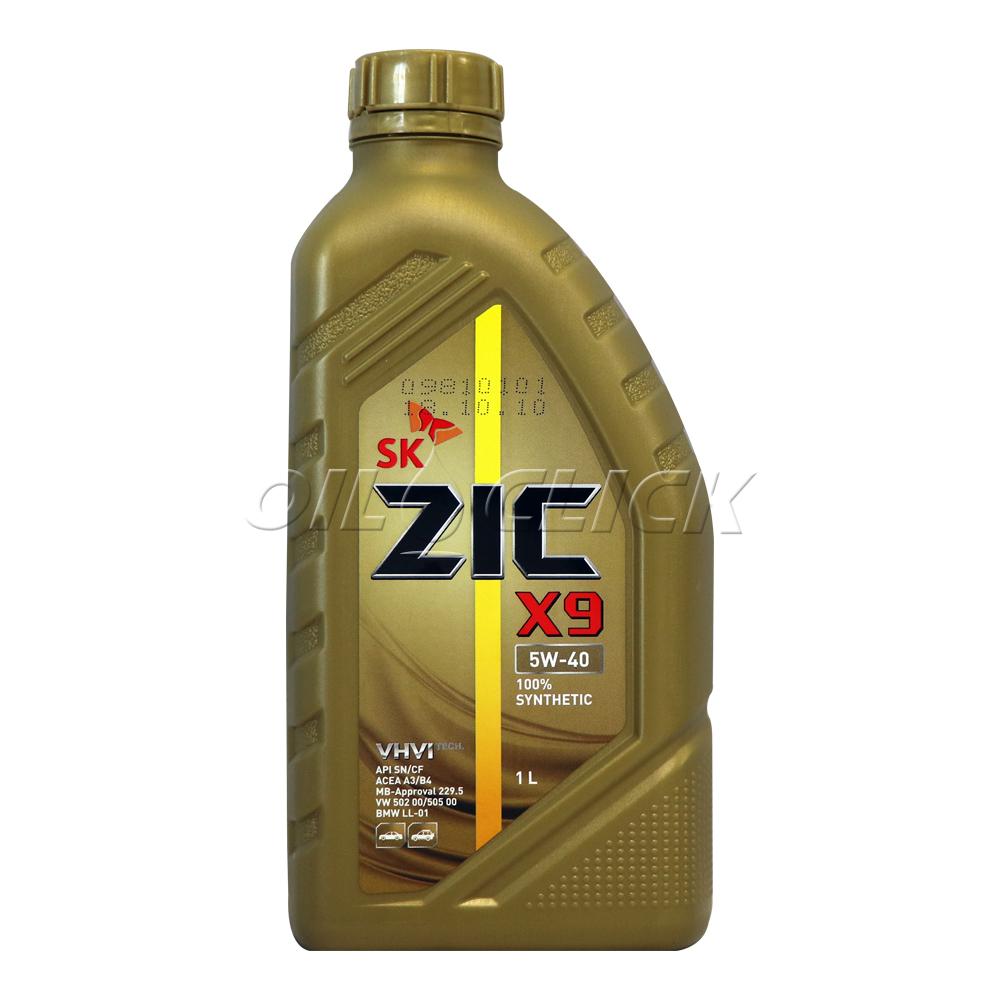 지크 ZIC X9 5W-40 1L (구. ZIC XQ 가솔린 5W-40)