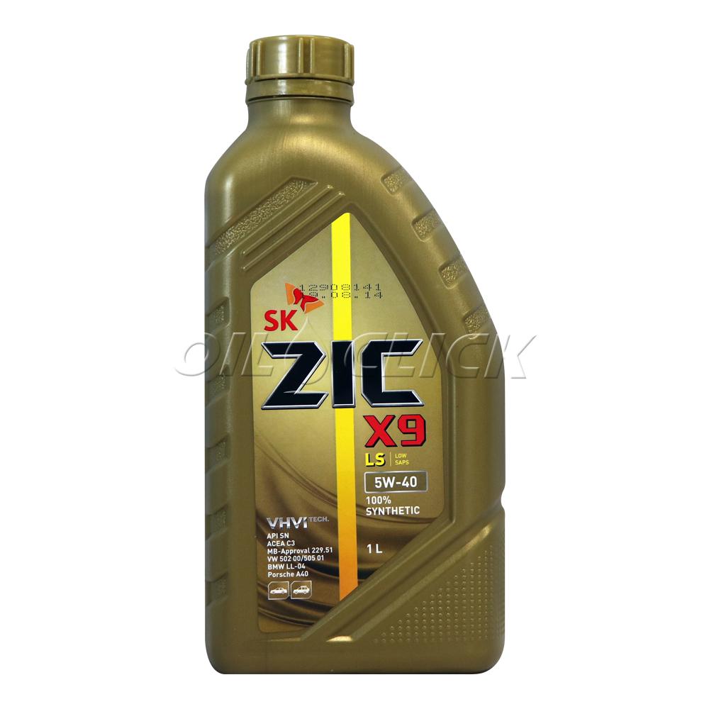 [SK ZIC] 지크 엔진오일 X9 LS 5W-40 C3 1L
